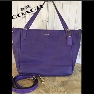 XL SAFFIANO DIAPER CROSSBODY BAG